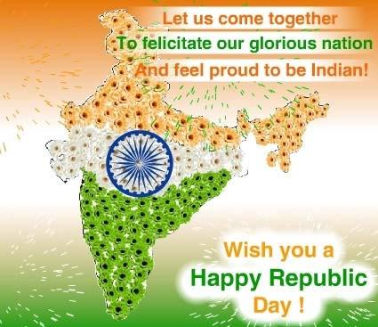 Republic Day Greetings, Orkut Scraps