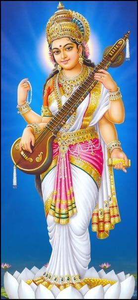 maa saraswati pictures images goddess